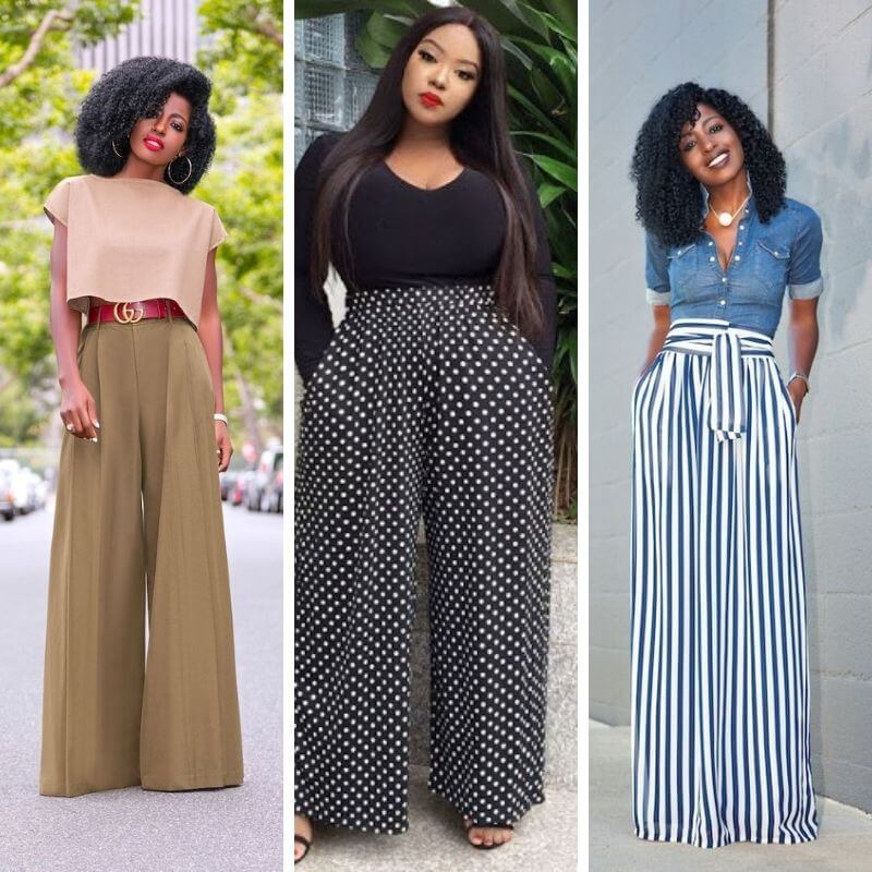 How To Wear Palazzo Pants To Work