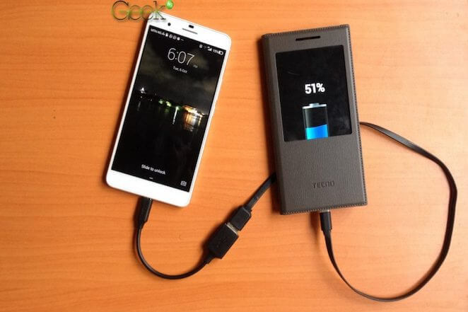 charge another phone with an android phone
